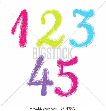 Set of numerals