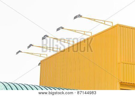 Metal Sheet Building