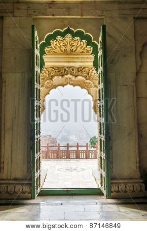 Entrance Gate Of Jaswant Thada, Jodhpur, India