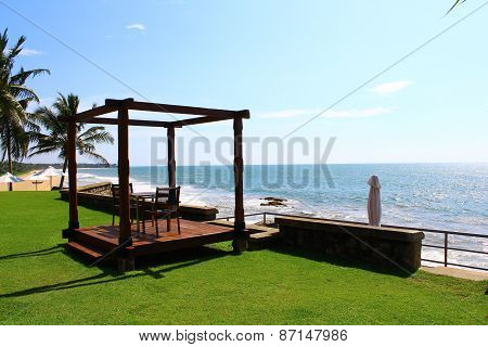 Gazebo for two, hotel Saman Villas