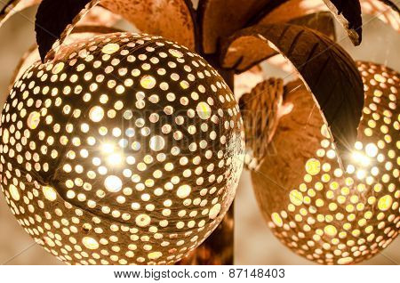 Coconut Lamp