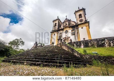 Sao Francisco De Paula Church ,Ouro preto in brazil