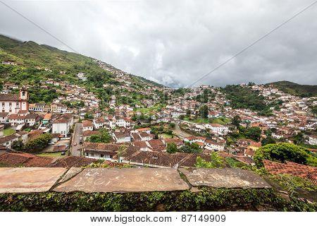 Ouro Preto in Minas Gerais, Brazil