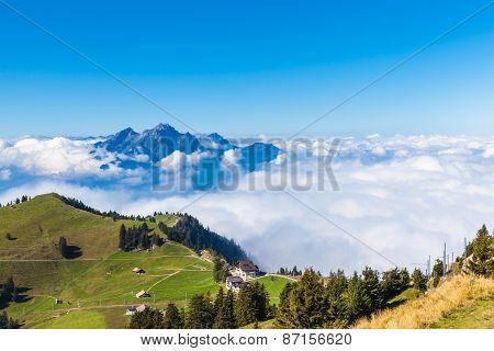 Pilatus Above The Cloud