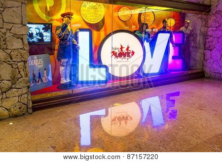 Vegas , Beatles