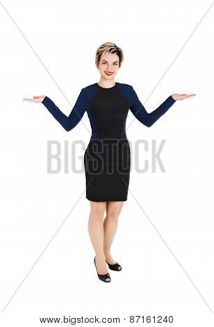 Woman With Open Hands