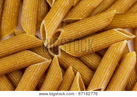 Wholegrain Pasta - Macaroni  For Background
