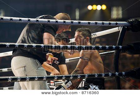 English Thaiboxing World Champion Liam Harrison