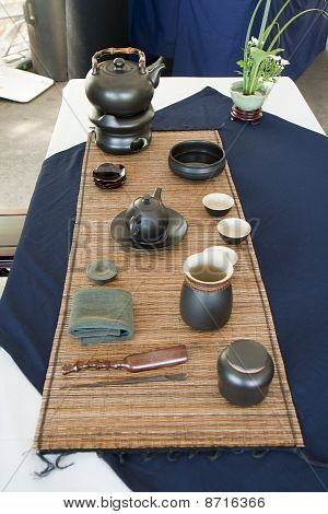 Tea Set For Tea Ceremony