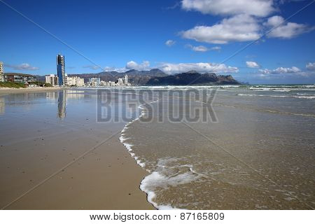 The Strand in False Bay. Cape Town