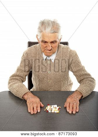 Old Man With Pills