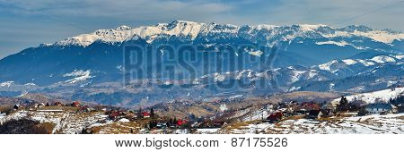 Bucegi Mountains In Romania