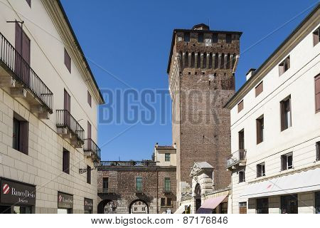 Vicenza,castle Tower