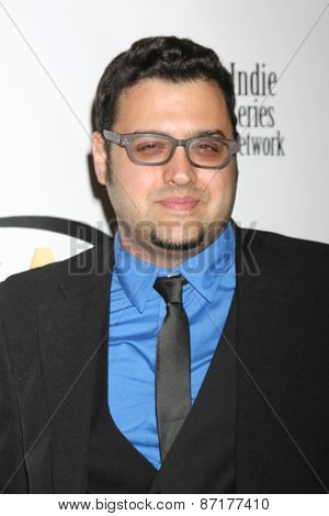 LOS ANGELES - APR 1:  Gregori J Martin at the 6th Annual Indie Series Awards at the El Portal Theater on April 1, 2015 in North Hollywood, CA