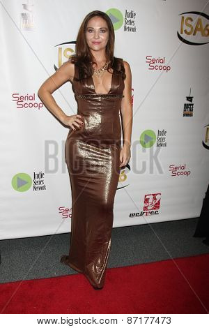 LOS ANGELES - APR 1:  Jade Harlow at the 6th Annual Indie Series Awards at the El Portal Theater on April 1, 2015 in North Hollywood, CA