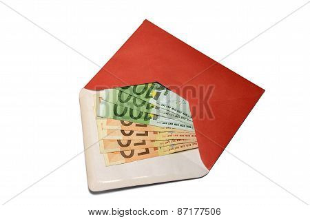 An Envelope With Euros