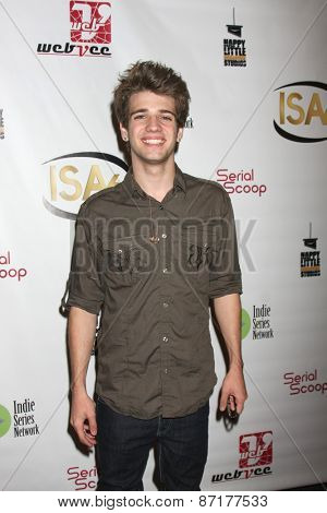 LOS ANGELES - APR 1:  Brandon Tyler Russell at the 6th Annual Indie Series Awards at the El Portal Theater on April 1, 2015 in North Hollywood, CA