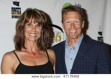 LOS ANGELES - APR 1:  Alexandra Paul, Ian Murray at the 6th Annual Indie Series Awards at the El Portal Theater on April 1, 2015 in North Hollywood, CA