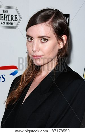 LOS ANGELES - APR 1:  Lykke Li at the The Music Of David Lynch at the Ace Hotel on April 1, 2015 in Los Angeles, CA