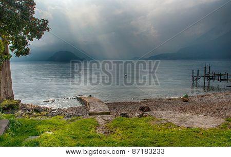 Magical light, Lake Como.