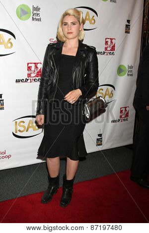 LOS ANGELES - APR 1:  Marzy Hart at the 6th Annual Indie Series Awards at the El Portal Theater on April 1, 2015 in North Hollywood, CA