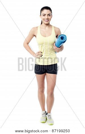 I Am Ready For My Daily Workout.