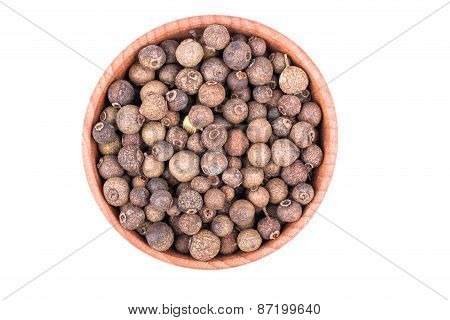 Grains Of Pepper In A Bowl