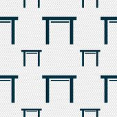 image of stool  - stool seat icon sign - JPG