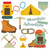 foto of boot camp  - Camping and Mountain Hiking Objects - JPG