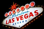 foto of las vegas casino  - Classic Welcome to Fabulous Las Vegas neon sign - JPG