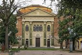 image of synagogue  - Modena synagogue is located in the historic center of the city Italy - JPG