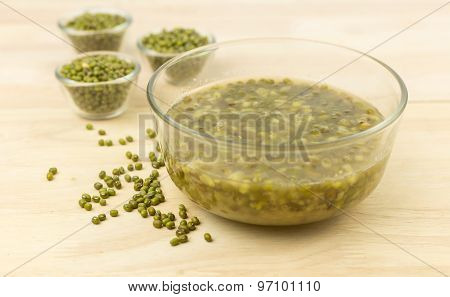 Bowl Of Dessert From Mung Beans