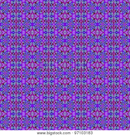Seamless pattern purple green