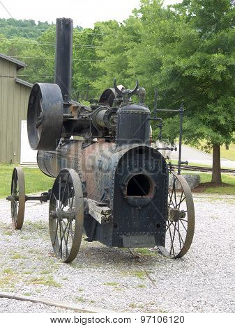 Vintage Portable Frick Steam Engine