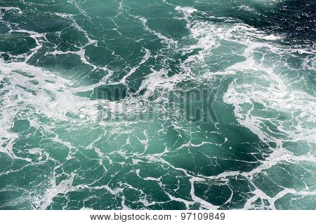 Foam In Seawater
