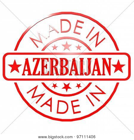Made In Azerbaijan Red Seal