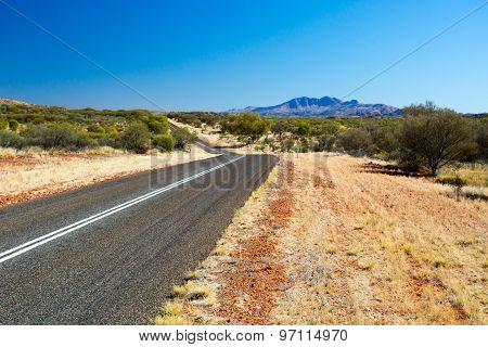 Mt Zeil Landscape