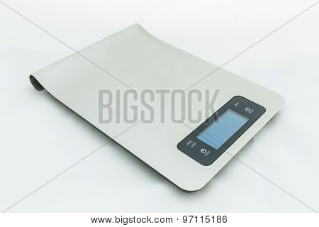 Food Scale / Digital Food Scale Isolated On White