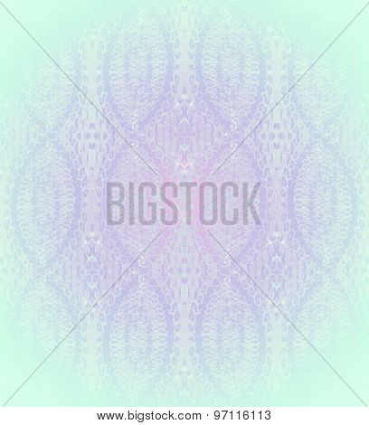 Seamless pattern mint green purple