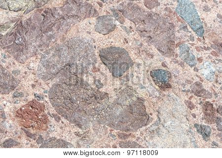 Natural Textured Stone Background