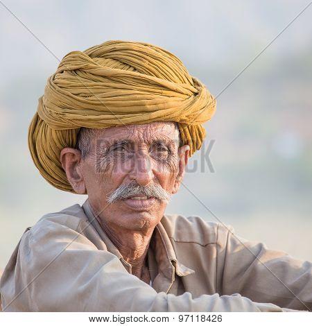 Indian Nomad Attended The Annual Pushkar Camel Mela