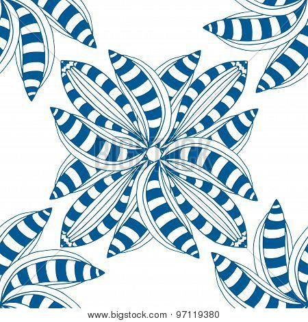 Blue Pattern.