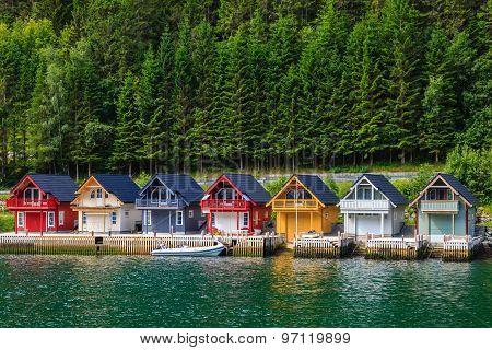 Norwegian Fjord Houses
