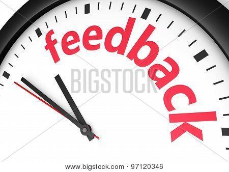 Feedback Time Concept