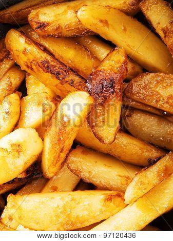Fried Potatos With Sugar