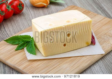 Yellow Cheese Brick