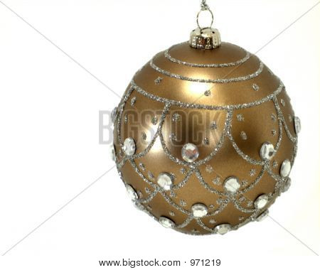 Brown Tree Ornament