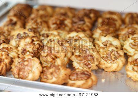 Pastry Nuts Cookies
