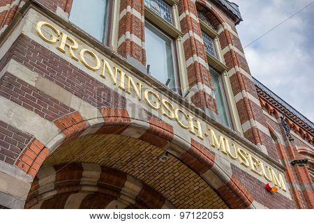 Entrance Of The Old Groningen Museum