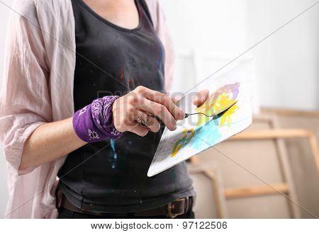 Spatula painting